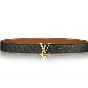 Louis Vuitton Initiales Reversible belt brown/blk